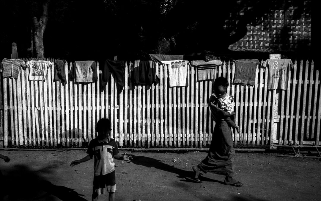 Faded faces of Myanmar